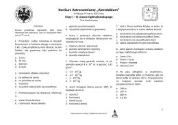 pytania_lic_2015 - Akademia Astronomii