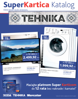 Super Kartica katalog tehnike 11.04.