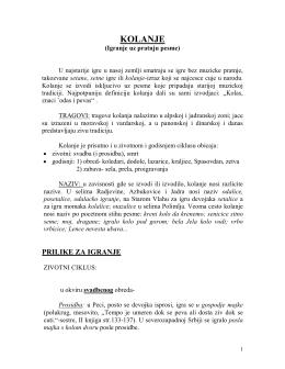 kolanje - Skripta.info