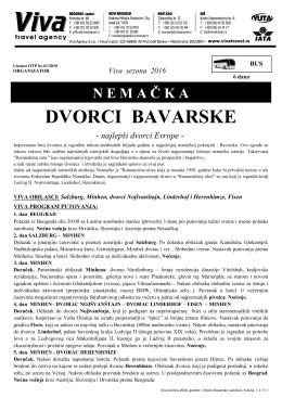 DVORCI BAVARSKE sezona 2016