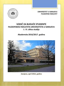 Vodič za buduće studente 2016/2017.