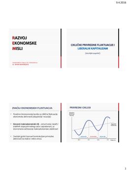 Razvoj ekonomske misli - Ekonomski fakultet