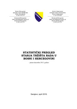 Tabela 1 - Arz.gov.ba.