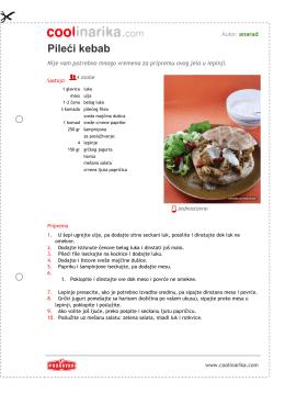 Pileæi kebab - Coolinarika