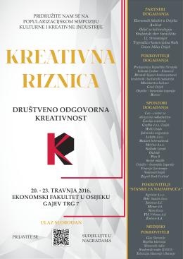 Plakat B1 - Odjel za kulturologiju, Osijek
