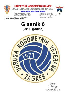 Glasnik 6 - Hrvatski nogometni savez