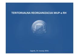 Teritorijalna reorganizacija MUP