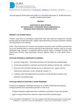 Razvojna agencija Grada Dubrovnika DURA d.o.o.,Branitelja