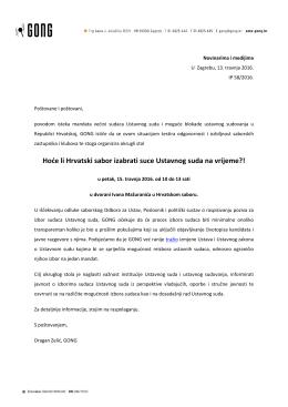 Hode li Hrvatski sabor izabrati suce Ustavnog suda na - H
