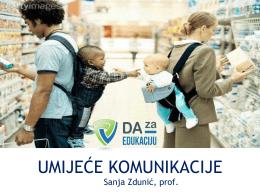 Sanja Zdunić: Umijeće komunikacije