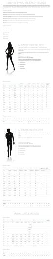 izberite pravu veličinu – odjeće mjere ženske