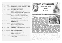 Iz poruke nadbiskupa Marina Barišića za nedjelju Dobrog Pastira