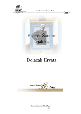 Dolazak Hrvata - Skripta.info