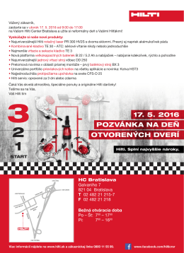 Hilti Center Bratislava