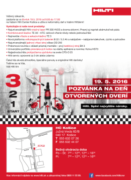 Hilti Center Košice