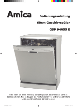 GS 15296 W - Amica International GmbH