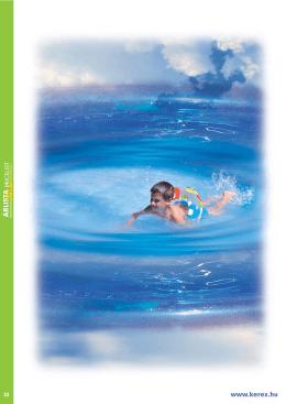 Fémpalástos fólia burkolatú medencék, műanyag medencék