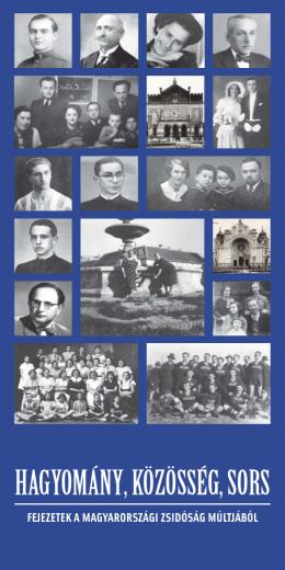 fejezetek a magyarországi zsidóság múltjából