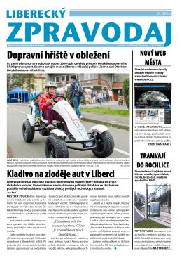 Dopravní hřiště v obležení - Statutární město Liberec