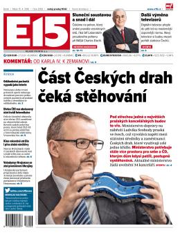 Část Českých drah čeká stěhování