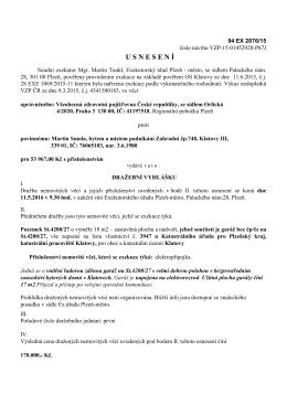 Exekutorský úřad Plzeň - město