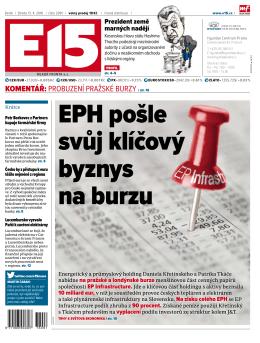ePH pošle svůj klíčový byznys na burzu