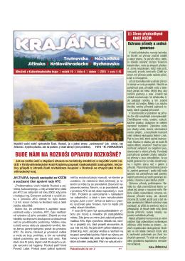 Krajánek 04/2016 - KV KSČM Hradec Králové
