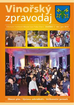Vinořský zpravodaj č. 126 - Praha