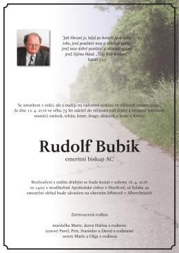 Rudolf Bubik