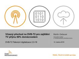 Obchodní příležitosti přechodu na DVB