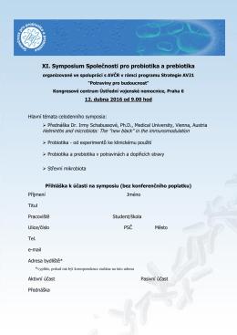 XI. sympozium SPP