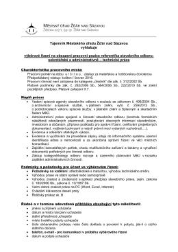 sekretářské a administrativně – technické práce