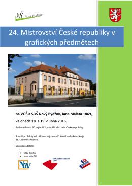 24. Mistrovství České republiky v grafických