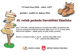 TJ Sokol Stará Bělá odbor ASPV