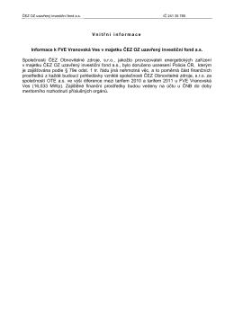 Majetkové podíly ČEZ v distribučních firmách a ČEPS