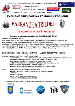 Pochod Barrande a trilobit - Muzeum T. G. M. Rakovník