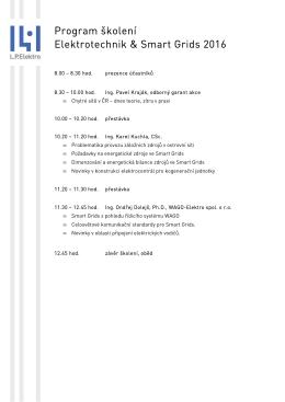 kompletní program