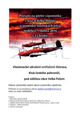 Vlastenecké sdružení antifašistů Ostrava, Klub českého pohraničí
