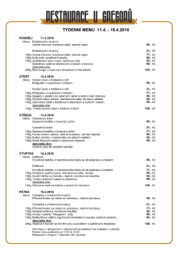 stáhnout, tisk, PDF - Restaurace U Gregorů