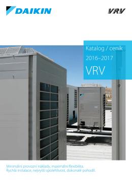 Daikin katalog-cenik VRV 2016-2017