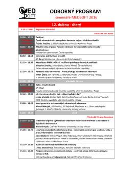 program ve formátu PDF