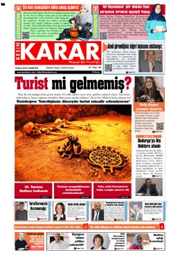 16 Nisan 2016 - Kesin Karar Gazetesi