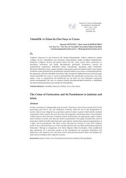 Bu PDF dosyasını indir - İnsan ve Toplum Bilimleri Araştırmaları