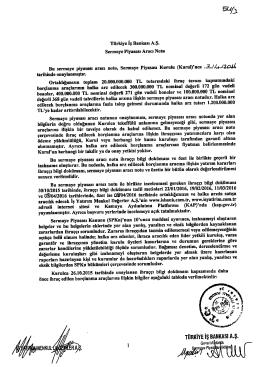 türkiye iş bankası a.ş.