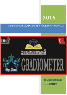 3D Gradıometer - Treasurerman