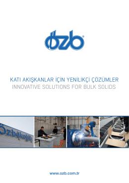 Klepeler Valves - Özbekoğlu | OZB