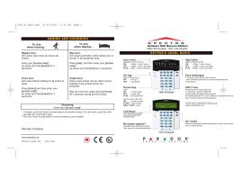 1689 LED Keypad & 1641 LCD Keypad
