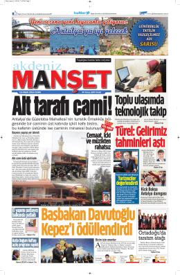 Toplu ulaşımda teknolojik takip - Antalya Haber - Haberler