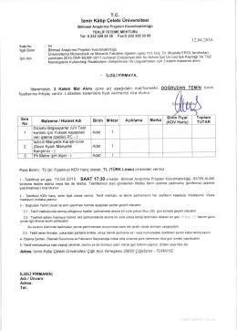 Vüru+ - İzmir Katip Çelebi Üniversitesi