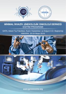 minimal invaziv jinekolojik onkoloji derneği eğitim programı